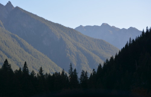 EARLY MORNING IN THE NORTH CASCADES,   BC.