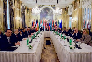 Secretary Kerry, U.N. Special Envoy de Mistura, Russian Foreign Minister Lavrov Sit With Ministerial Colleagues Before Convening Syria Meeting in Austria