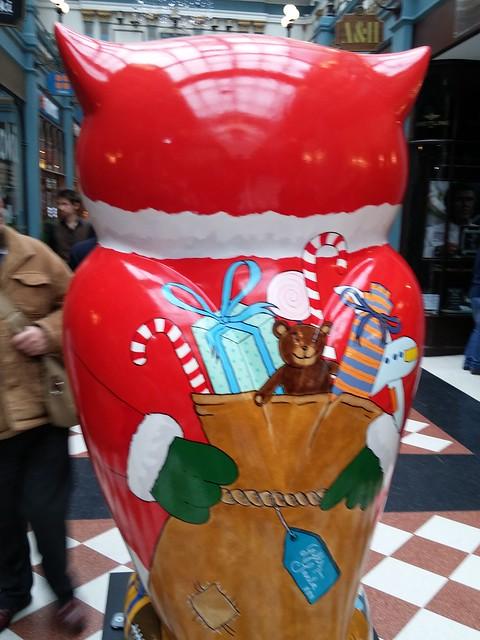 The Big Hoot - Christmas Owl - Great Western Arcade