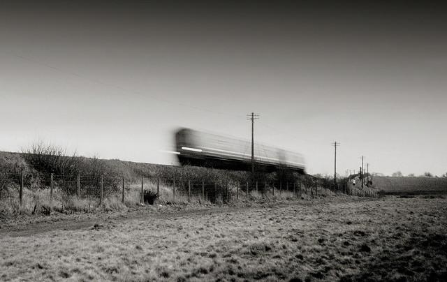 Railcar blur - The Curragh (1993)