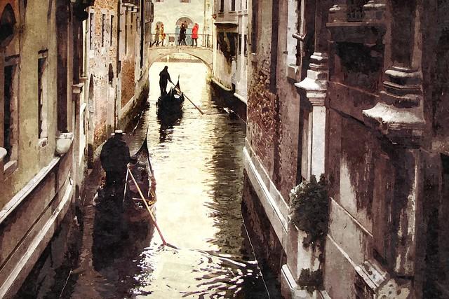 Venezia, come in un dipinto ... (serie)