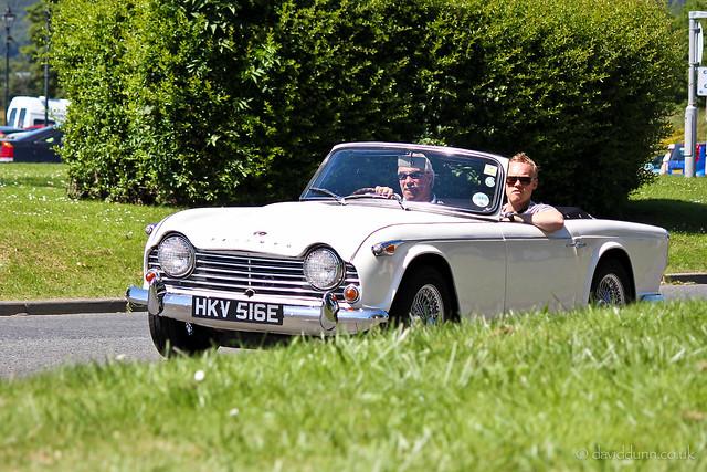 1967 Triumph TR4A - HKV 516E