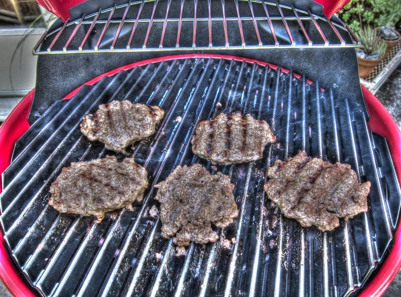 Fourth of July Grilled Burgers