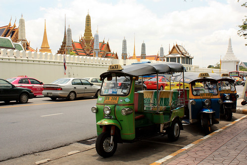 Tuk-tuk Outside the Grand Palace   by osiristhe