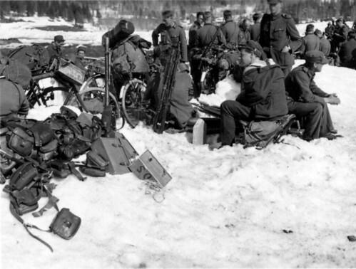 Kapitulerte, norske soldater ved Kvam