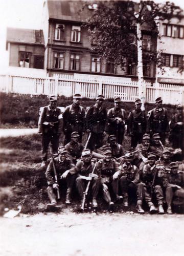 Bergjegerne ankom Narvik 13 juni 1940, etter en strabasiøs marsj over fjellene fra Røsvik