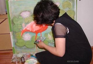 私の作品「My painting」