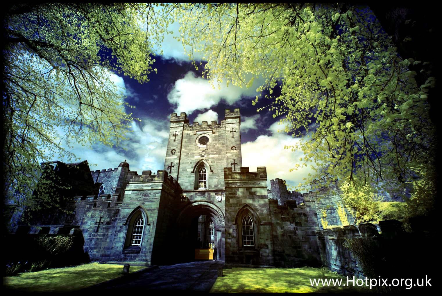 NE England Durham county tyne & and wear Darlington,Hartlepool  area of Stockton-on-Tees  castle entrance UK GB great britain building architecture