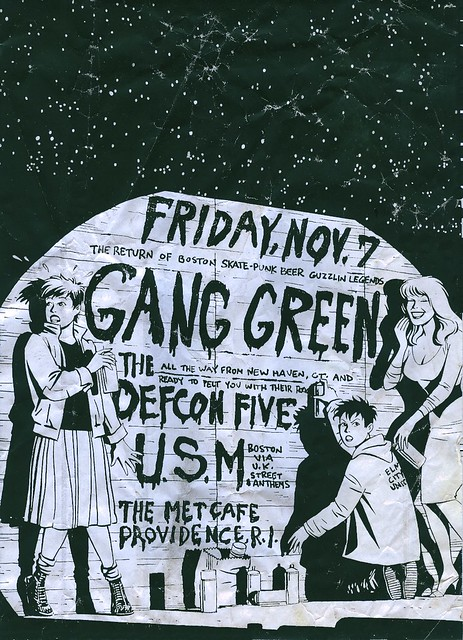 Gang Green / Defcon Five / U.S.M.
