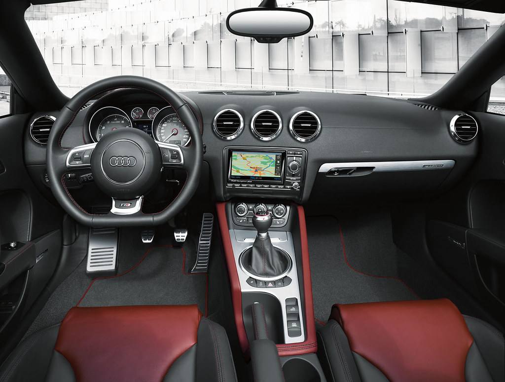 Audi Tts Couperoadster Interior Silk Nappa Leather In Mag Flickr
