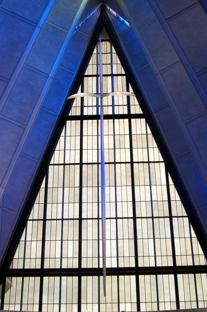 Colorado - US Air Force Academy: Cadet Chapel - Protestant Chapel