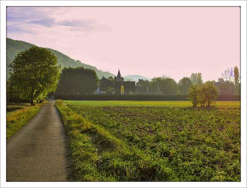 france lot route paysage campagne matin midipyrénées finegold lo46 flickrbronzeaward departementdulot soe3 betterthangood3 concorès naturespotofgold1