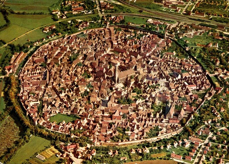 Nördlingen - Air View (Postcard)