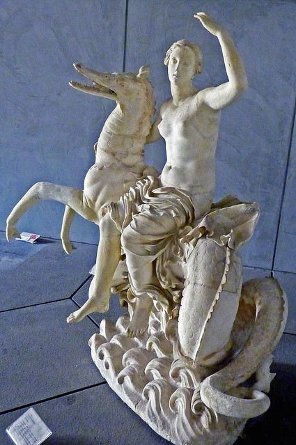 Nereid riding on a Ketos - Nereide su pistrice