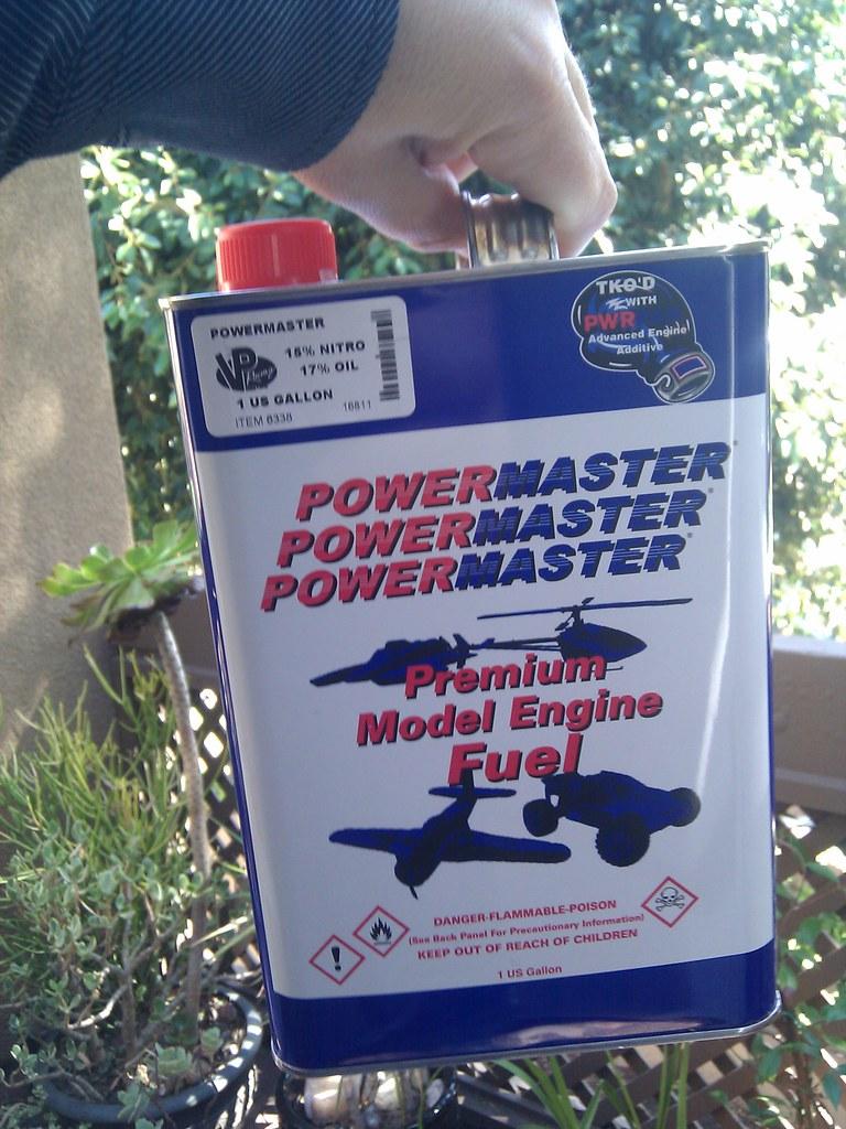 Powermaster 15% Nitro Fuel
