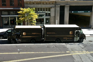 UPS Trucks Back to Back | by Mr.TinDC