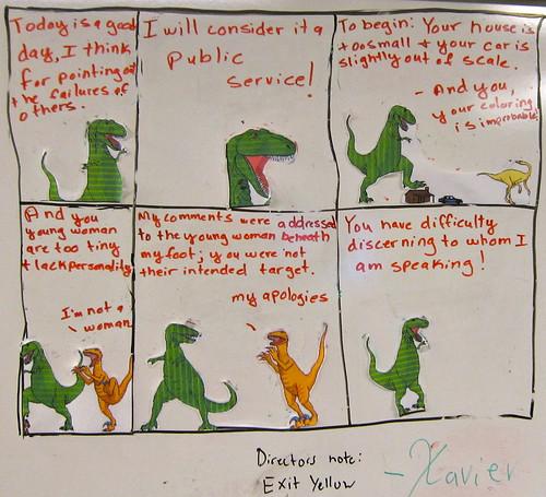Pre-Thanksgiving Dinosaur Comic