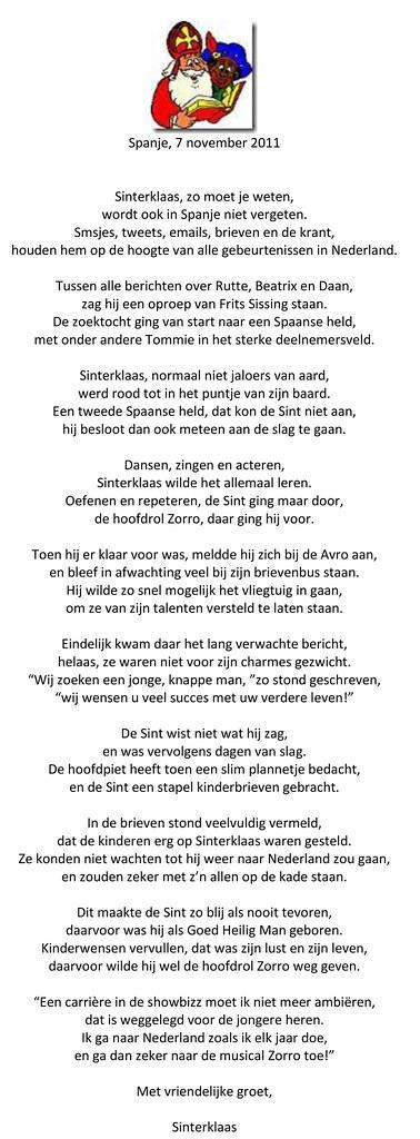 Sinterklaas Gedicht Patrice Smolders De Valk Patrice Smold