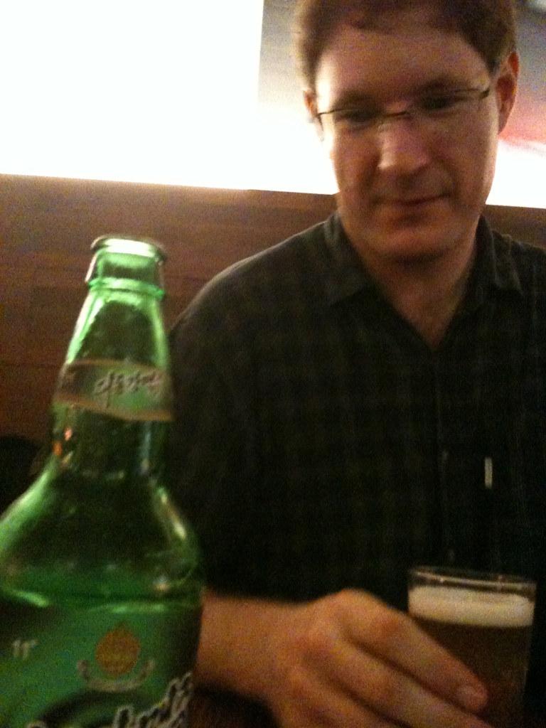 richard dudas + north korean beer | www richarddudas com | Jamie