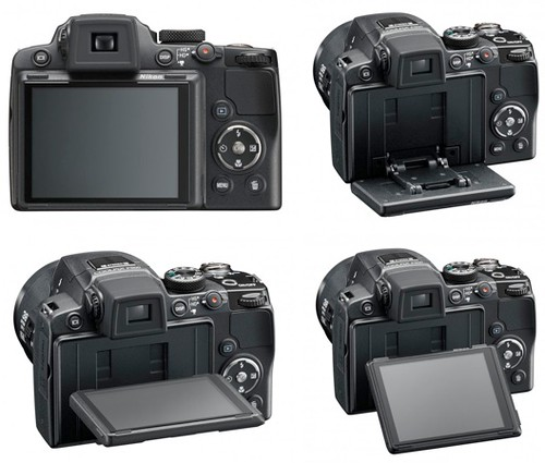 Nikon P500 - Tilting LCD | by ** David Chin **