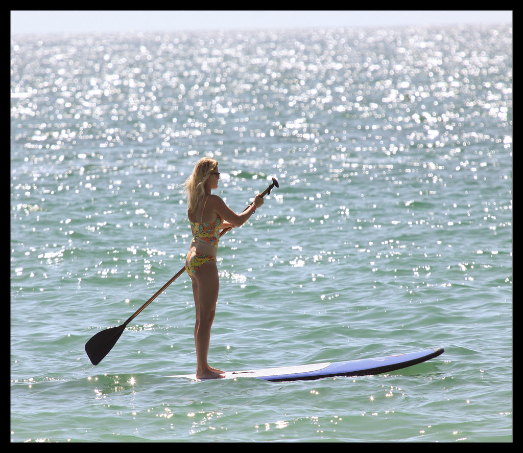 Walking on Water - Paddleboarding - 6471
