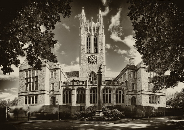 Boston College: The Beauty of Black & White