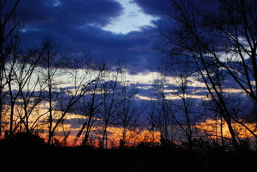 trees sunset ohio sky orange nature silhouette evening nikon october skies purple