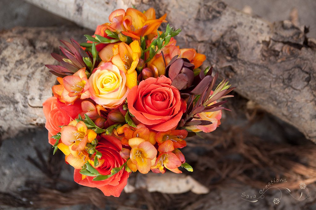 Autumn Bridal Bouquet Buchet Mireasa De Toamna Wwwsarac Flickr