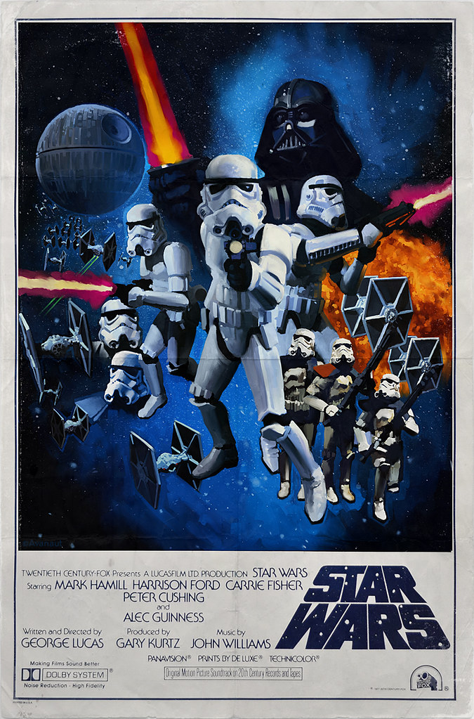 Star Wars Poster One Sheet Stormtrooper Style Well Why