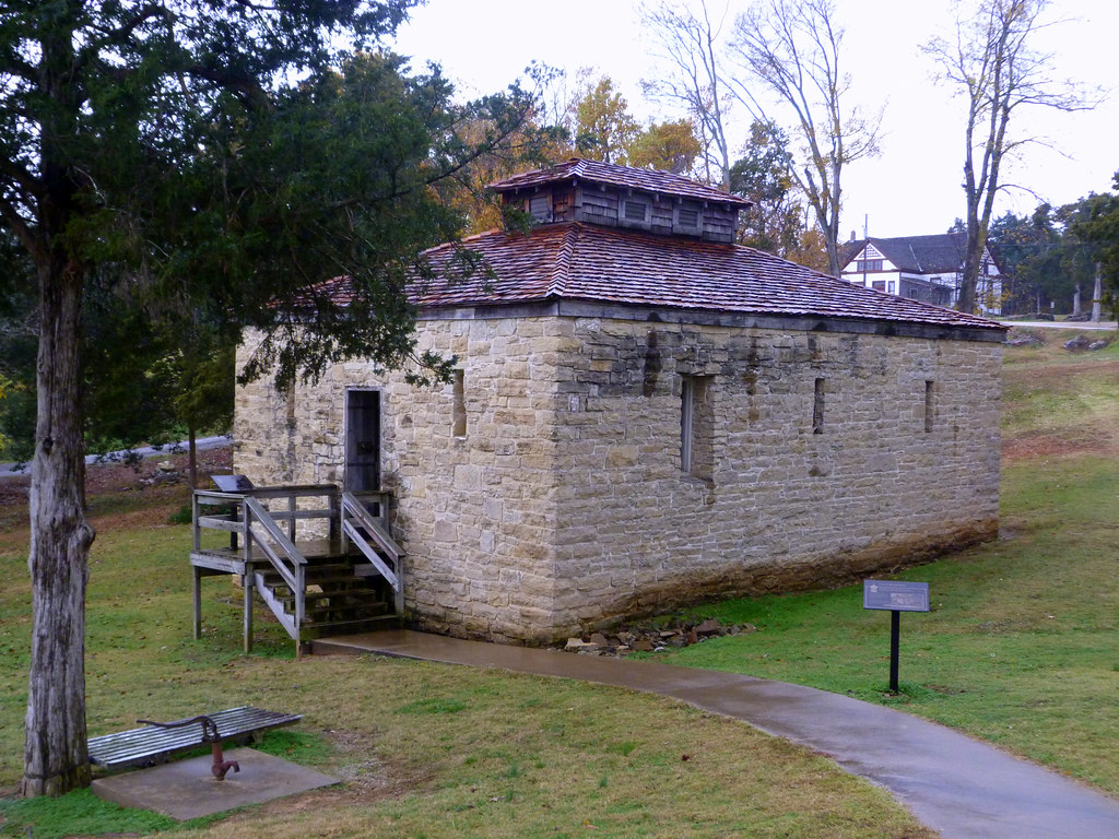 Old Lawrence County Jail | Powhatan, Arkansas: It was built