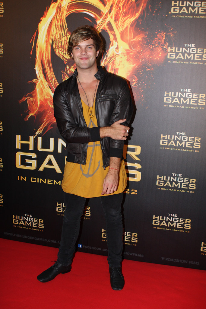 Harry Cook - The Hunger Games Sydney Premiere And Review The