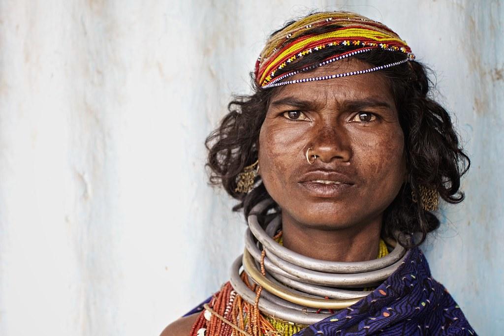 Bonda tribe, Orissa, India