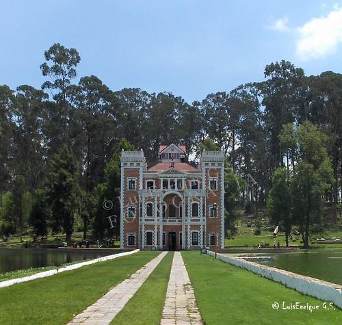 Castillo  en la Ex-Hacienda Chautla - Puebla - México