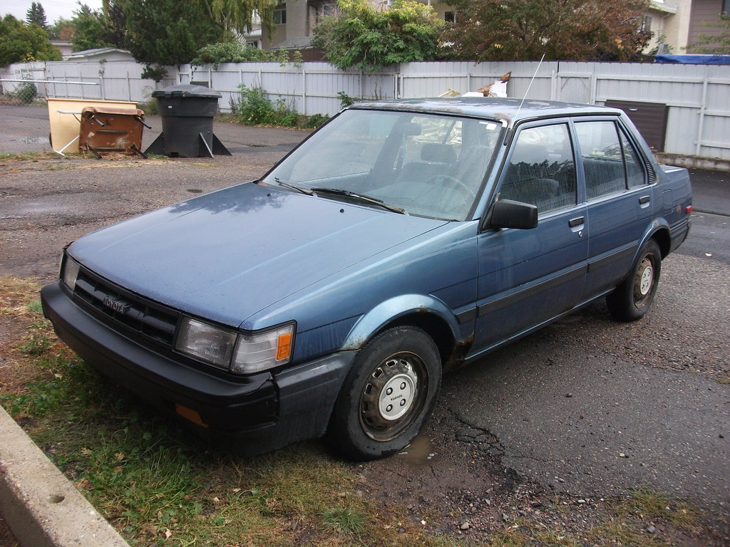 1987 Toyota Corolla 1987 Toyota Corolla As Bought For 80 Flickr