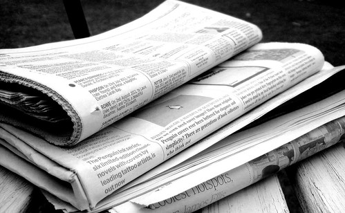 Newspapers B&W (5) | by NS Newsflash