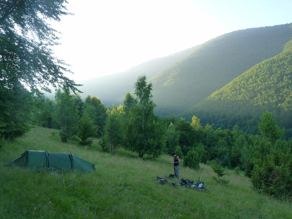 Wild Camping in Bosnia | Wild camping through Europe ...