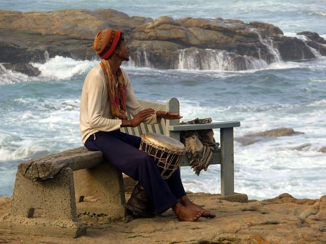 Drummer at Marina Beach