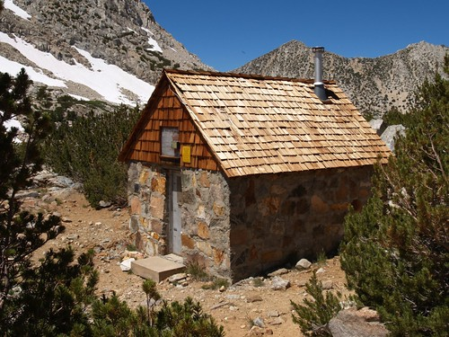 1396 Bishop Pass Trail Snow Survey Shelter | by _JFR_