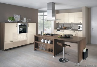 Kitchen Cabinets Modern Two Tone 229 A181a Antique White D Flickr