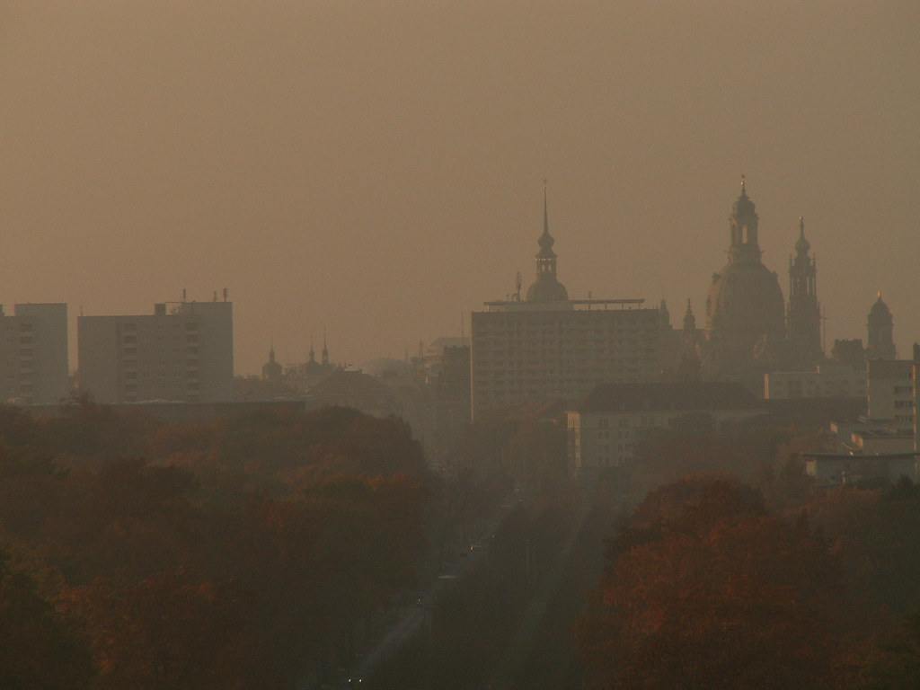 Die Flut überdeckt die innern schlammigen Plätze und läßt die erhoben, wo nicht furztrocken, doch nachweisbar bei Dresden im Herbst 160