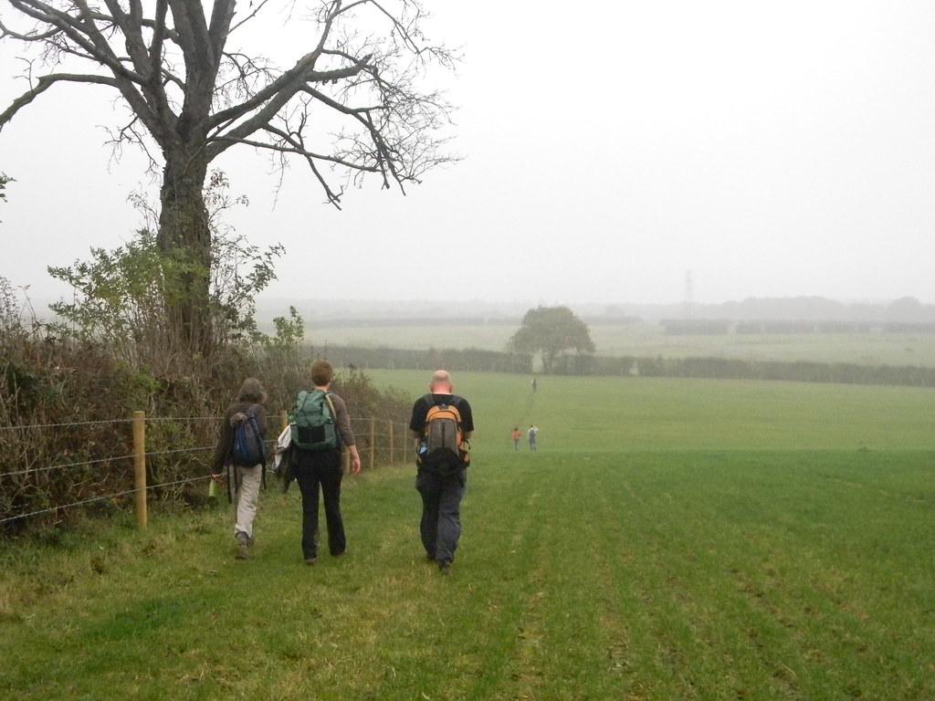 Misty view Princes Risborough to Great Missenden