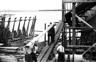 18-5 Ship Building, Nova Scotia, Canada 1936