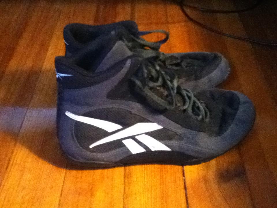low cost 318c7 d7288 Reebok wrestling shoes
