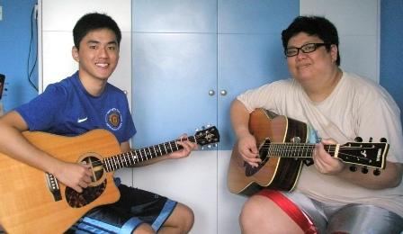 Guitar lessons Singapore Benson