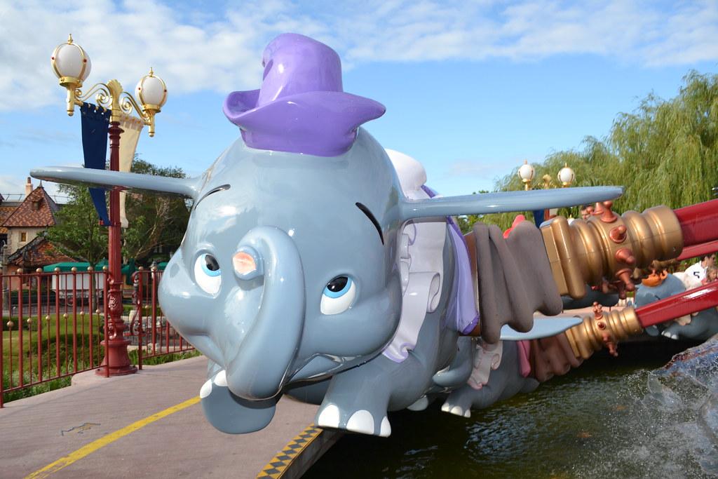 Dumbo the Flying Elephant | Loren Javier | Flickr