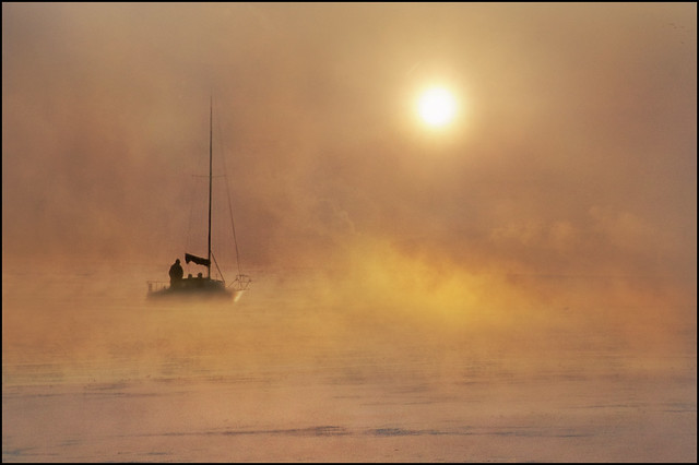 Sailing into the mists