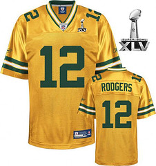 Green-Bay-Packers-12-Aaron-Rodgers-Yellow-Super-Bowl-XLV-2011-Jersey