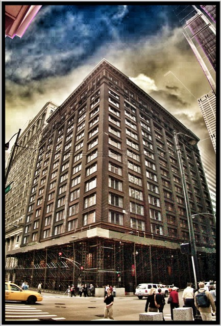 Marquette Building ~ Chicago Il ~ Under Renovation