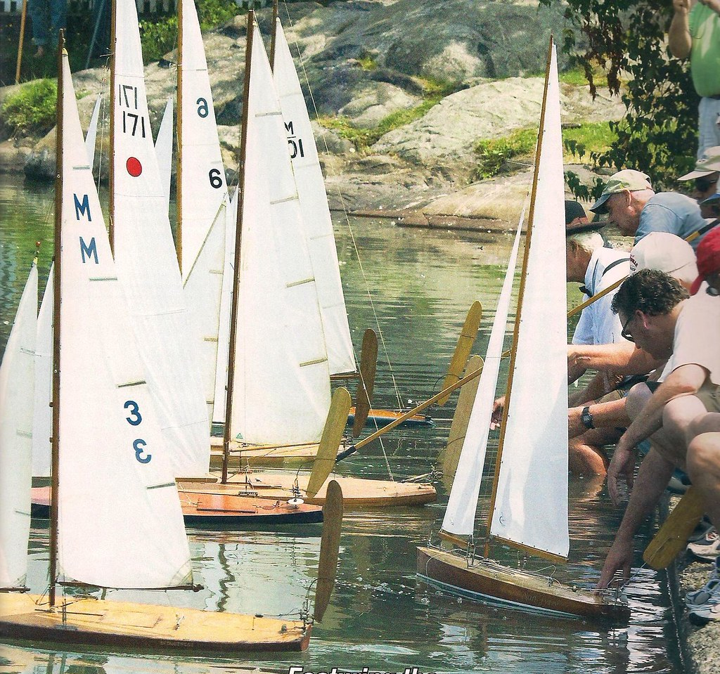Start of vintage M Class race Redd's Pond Marblehead | Flickr