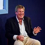 Ed Stourton | Ed Stourton entertained an audience of dog-lovers with tales of his own pooch